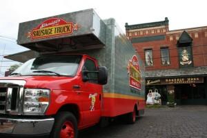 schmidts sausage truck