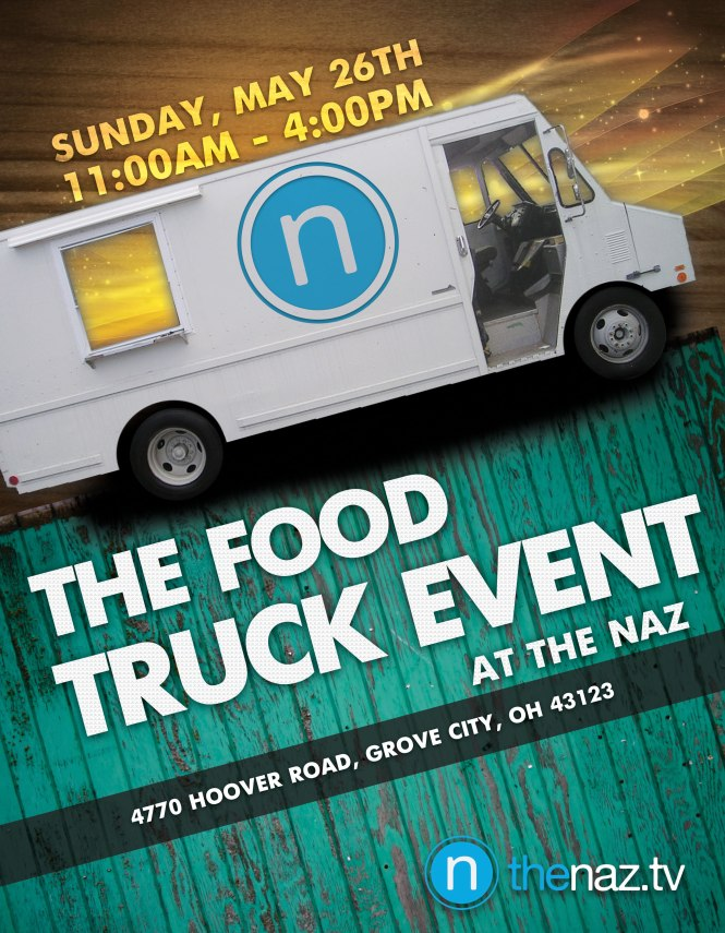 Naz Food Truck Event May 26th