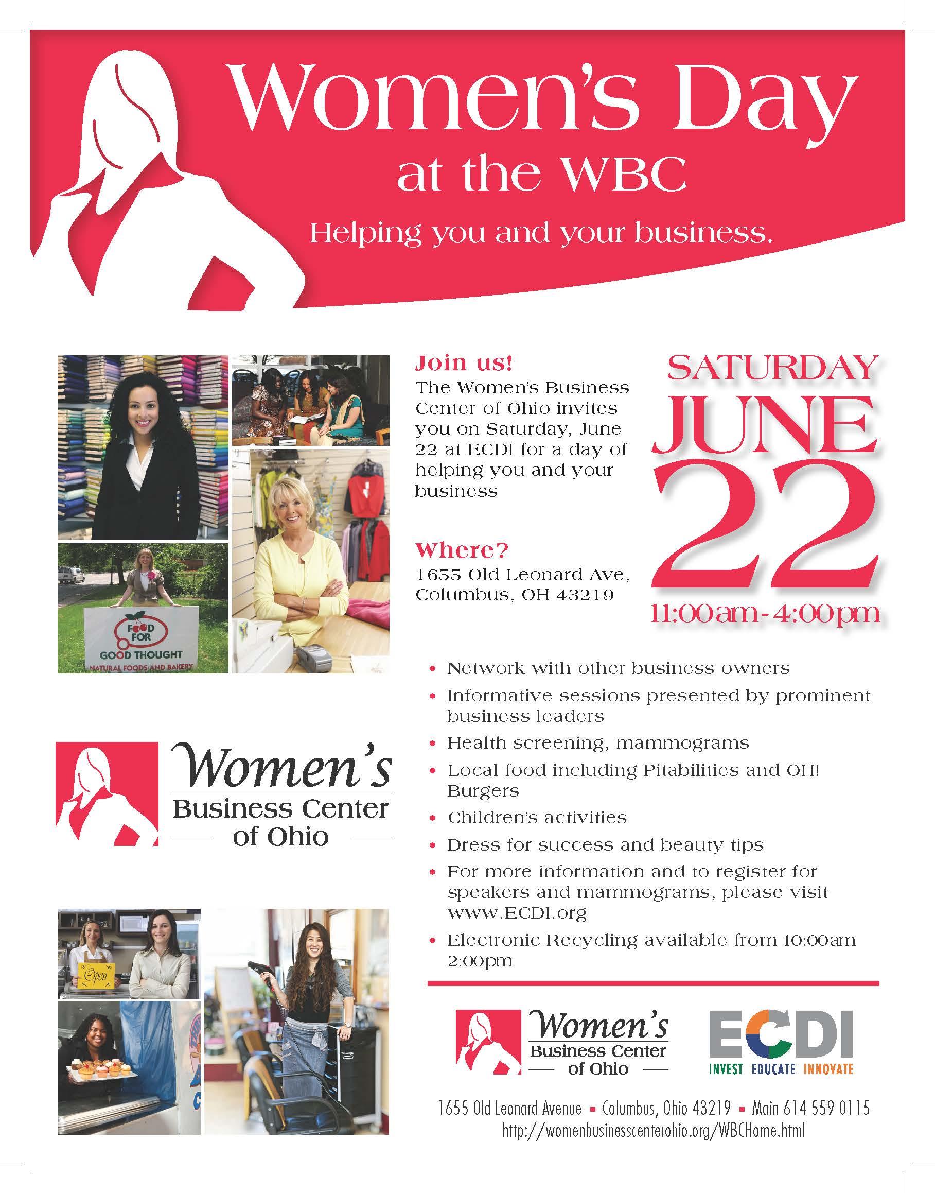 Women S Day Event At Ecdi S Women S Business Center June