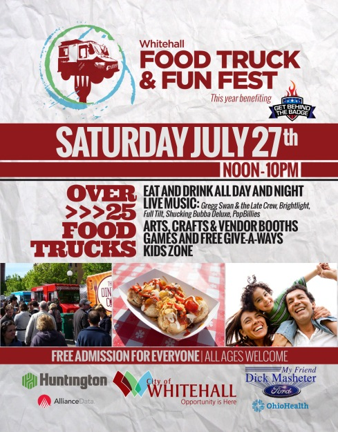 Whitehall Food Truck Fest Flyer