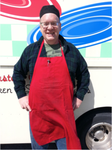 Thomas Adams, owner of Red Plate Blue Plate
